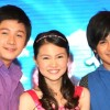 Barbie, Joshua, and Jhake on First Time TV Series